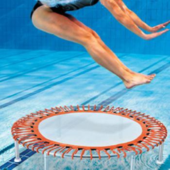 Un trampoline sous l''eau ?