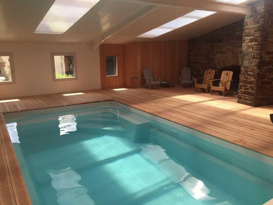 Réalisation d''une piscine intérieure - Pontrieux 0