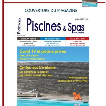 Aquasynergie fait la une du magasine Piscines & Spas - Juin 2020